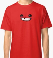 Super Meat Boy - Face! Classic T-Shirt