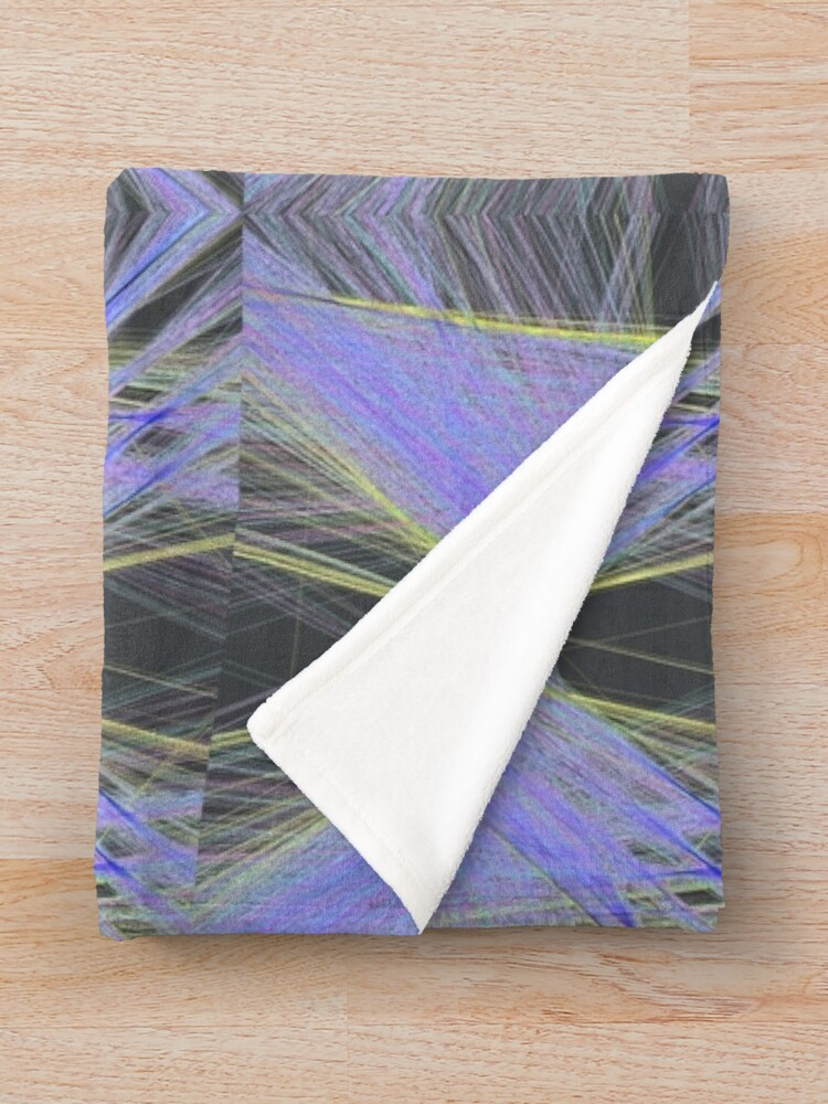 Alternate view of Violet Butterfly Throw Blanket