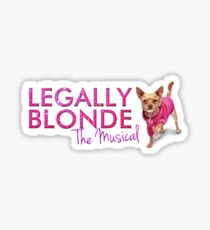 Legally Blonde The Musical Sticker