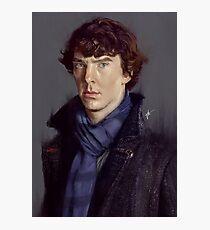 Sherlock Holmes (Benedict Cumberbatch) Photographic Print