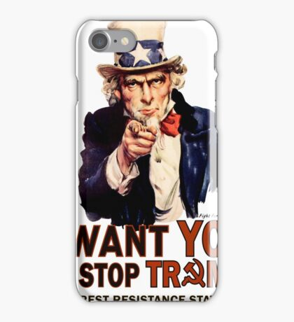 I Want You To Stop Trump iPhone Case/Skin