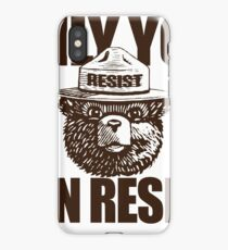 Only You Can Resist iPhone Case
