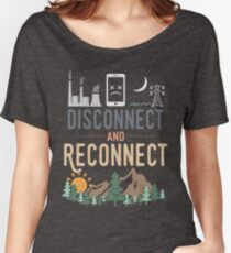 Disconnect and Reconnect Women's Relaxed Fit T-Shirt