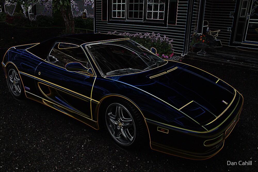 Ferrari in the Glow by Dan Cahill