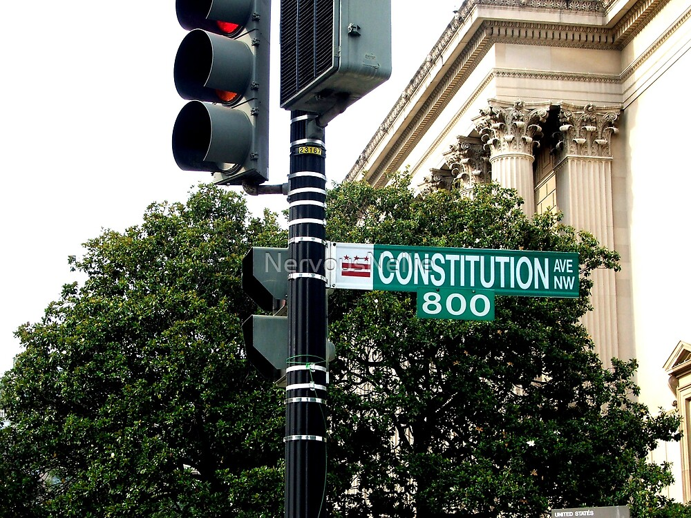 Constitution Ave. by NervousNellie
