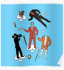 Cut It Out: Ron Burgundy Poster