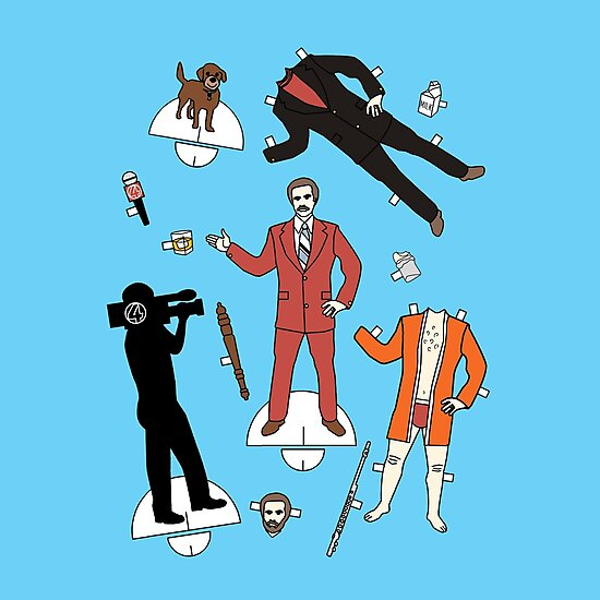 Cut It Out: Ron Burgundy by cudatron
