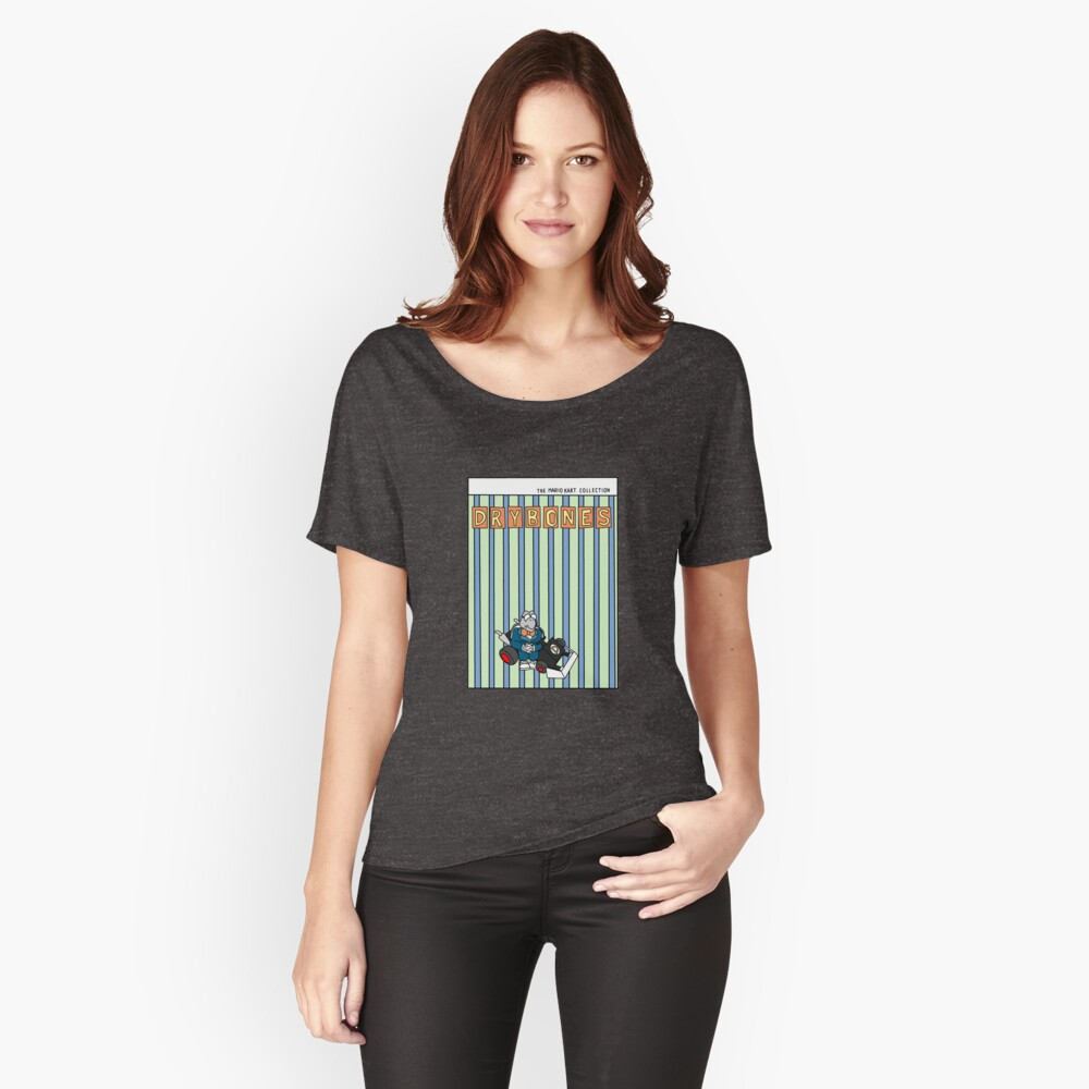 The Mario Kart Collection Presents: Dry Bones Women's Relaxed Fit T-Shirt Front
