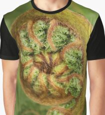 Tree fern frond curled Graphic T-Shirt