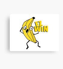 EZ Win Banana Canvas Print