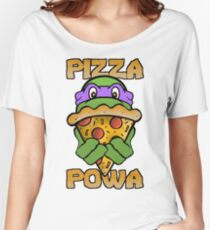 Pizza Powa - Donnie Women's Relaxed Fit T-Shirt