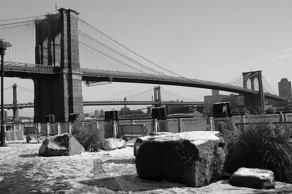 Brooklyn Bridge, New York by aaxford