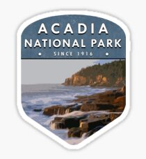 Acadia National Park 2 Sticker