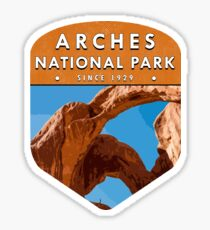 Arches National Park 2 Sticker