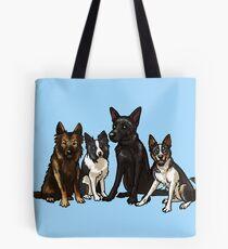 Four Good Doggos Tote Bag