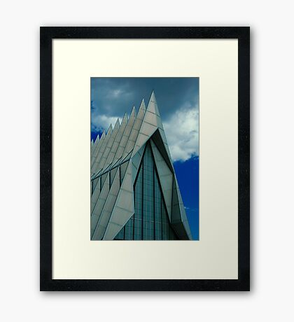 Chapel At the Academy Framed Print