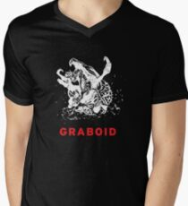 Monster Graboid Mens V-Neck T-Shirt