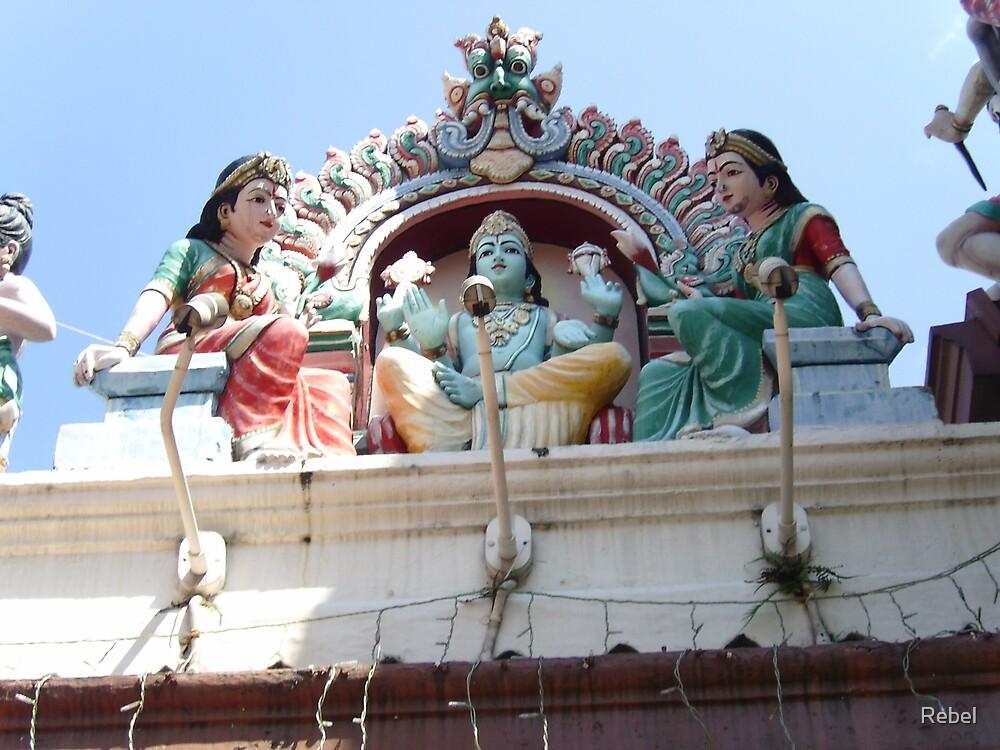 Hindu Temple by Rebel