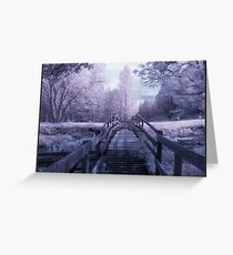 IR Bridge Greeting Card