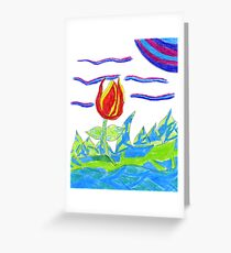 Magical Colors Greeting Card