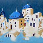 Memory of Santorini by federico cortese