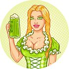 Girl with beer by SIR13