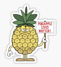 Pineapple Lives Matter Sticker