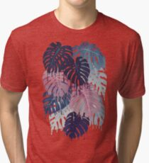 Monstera Melt Tri-blend T-Shirt