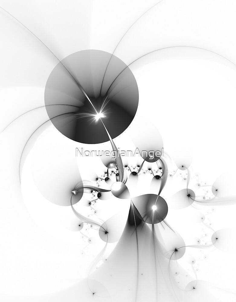 Grey Balloons by NorwegianAngel