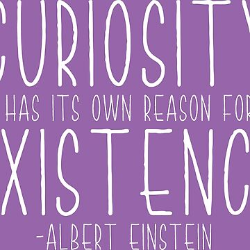Curiosity - White by samielsiedesign