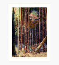 Fox Mountain Art Print