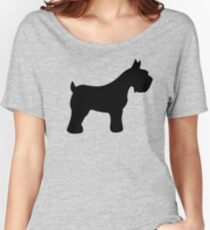 Schnauzer Women's Relaxed Fit T-Shirt