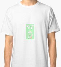 Cute Cheering Ducks Classic T-Shirt