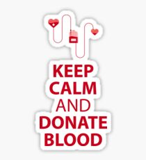 Blood Donation Sticker