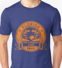 Florida America USA Travel Stamp  Unisex T-Shirt