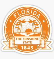 Florida America USA Travel Stamp  Sticker