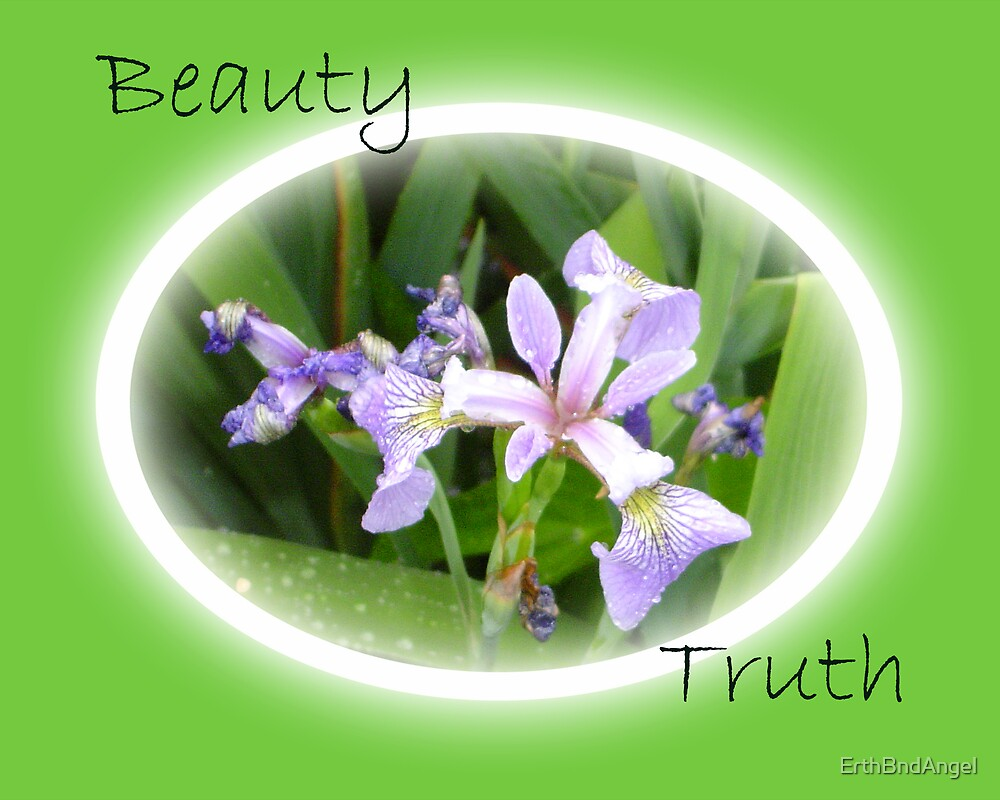 Beauty/Truth - Green by ErthBndAngel