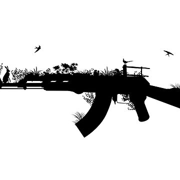 Ak47 Love & Peace by plastica