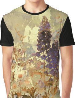 floral sur beige/floral on beige Graphic T-Shirt