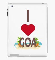 I Love Goa iPad Case/Skin