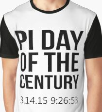 Pi Day Of The Century 14 March 2015 Graphic T-Shirt