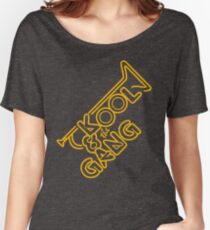 KOOL & THE GANG (YELLOW) Women's Relaxed Fit T-Shirt