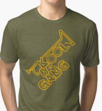 KOOL & THE GANG (YELLOW) Tri-blend T-Shirt