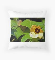 Opening Bloom Throw Pillow