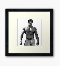 Arnold Pose Framed Print