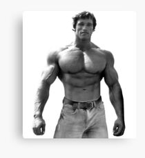 Arnold Pose Canvas Print