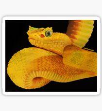 Eyelash Viper Sticker