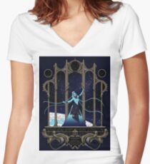 5th Element - Diva Plavalaguna Women's Fitted V-Neck T-Shirt