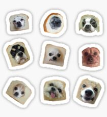 Bread Doggos Sticker Pack Sticker