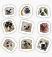 Pegatina Pack De Pegatinas De Pan Doggos
